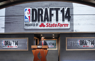 Церемония драфта НБА-2014