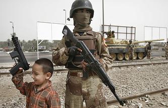 Для многих детей в Ираке война стала повседневной реальностью