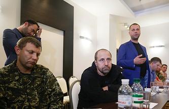 Александр Ходаковский, Андрей Пургин и Александр Бородай