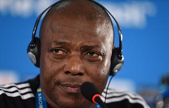 Главный тренер сборной Нигерии Стивен Кеши