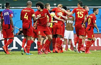 В 1/4 финала бельгийцы сыграют с командой Аргентины