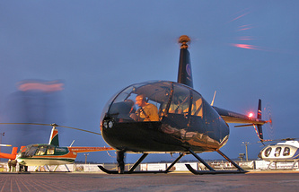 Вертолет R-44 Robinson