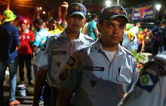 Бразильские полицейские