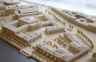 Проект комплекса зданий Верховного суда в Санкт-Петербурге