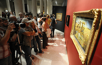 Открытие выставки «Сальвадор Дали» в ГМИИ им. А.С.Пушкина, 2011 год