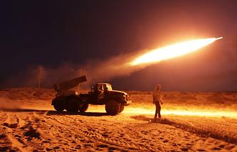 """Пусковая установка ракет """"Град"""""""