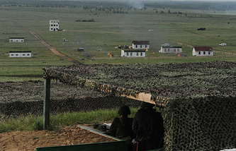 Во время внезапной проверки войск ЦВО на Чебаркульском полигоне