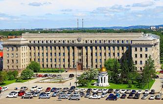 Здание правительства Иркутской области