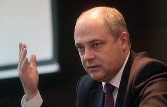 Первый заместитель мэра Новосибирска Андрей Ксензов