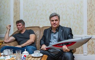Евгений Ройзман и Олег Кинев