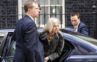 Министр внутренних дел Великобритании Тереза Мэй