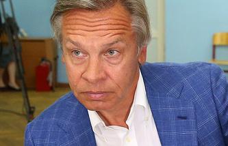 Глава думского комитета по международным делам Алексей Пушков
