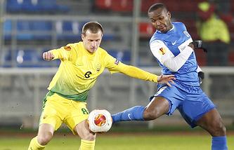 Александр Алиев (слева)