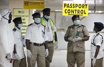 Международный аэропорт имени Мурталы Мохаммеда в Лагосе