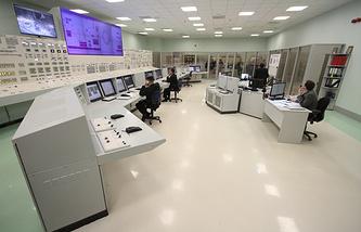 Пункт управления энергоблоком Белоярской АЭС