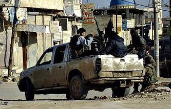 Город Ракка, январь 2014 год