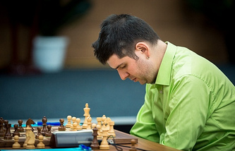 Шахматист сборной России Петр Свидлер