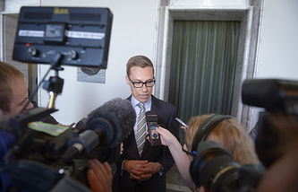 Премьер-министр Финляндии Александер Стубб