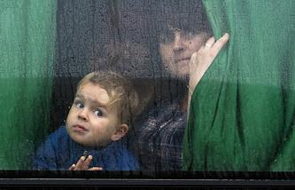 Беженцы с Украины. Архив