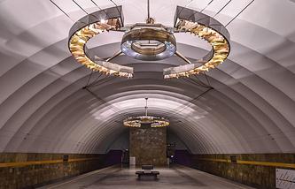 """Станция  метро """"Новочеркасская"""""""