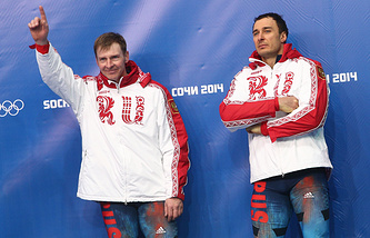 Александр Зубков (слева) и Алексей Воевода