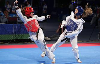 На Чемпионате мира по тхэквондо в 2013 году