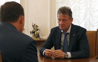 Андрей Козицын на встрече с Евгением Куйвашевым