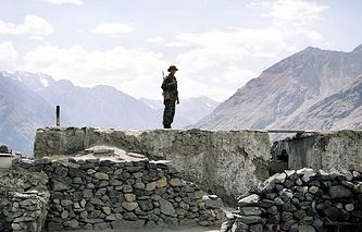 Граница Таджикистана, архивное фото, 2010 год