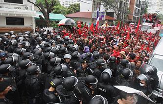 Бангкок. Март 2010 года