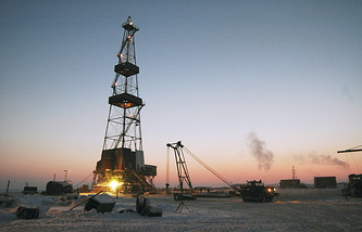 """Нефтегазоносная площадь """"Ванкор"""""""