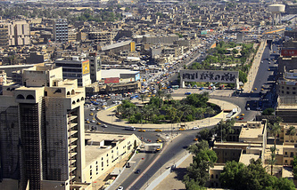 Вид на Багдад