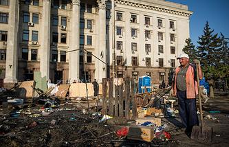 Одесса, май 2014 года
