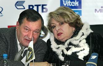 Валентин Писеев и Татьяна Тарасова