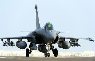 Истребитель Rafale ВВС Франции