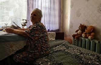Беженка с Украины. Архив