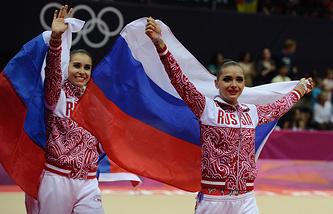 Российские гимнастки на Олимпиаде 2012 года в Лондоне