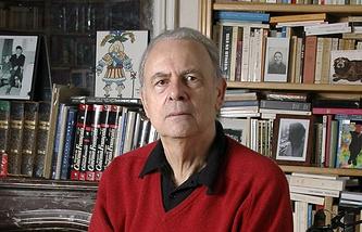 Французский писатель и сценарист Патрик Модиано
