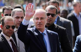 Премьер-министр Палестины Рами Хамдалла