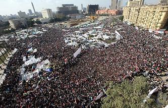 Каир, февраль 2011 года