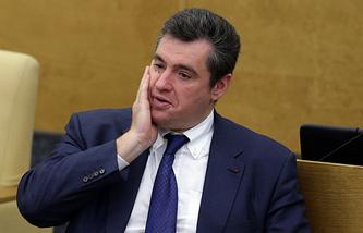 Председатель комитета ГД по делам СНГ, евразийской интеграции и связям с соотечественниками Леонид Слуцкий