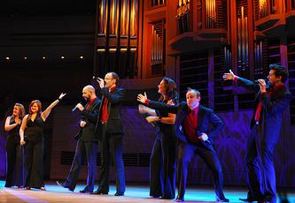 """Выступление группы """"The Swingle Singers"""""""