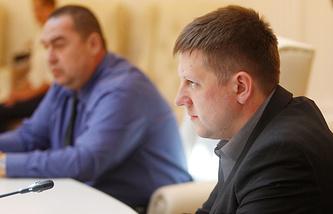 Председатель Народного совета ЛНР Алексей Карякин
