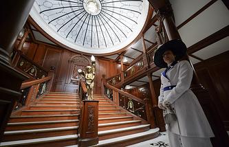 """Выставка """"Титаник. Артефакты"""" в Женеве"""