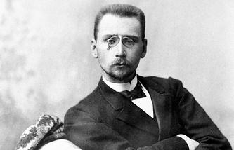 Русский промышленник и меценат Алексей Бахрушин, 1900 год