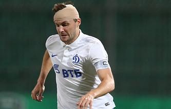 """Футболист """"Динамо"""" Владимир Гранат"""