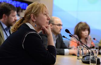 Декан факультета журналистики МГУ Елена Вартанова