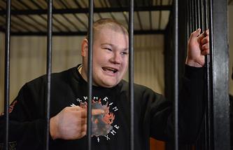 Вячеслав Дацик в зале суда. Архив