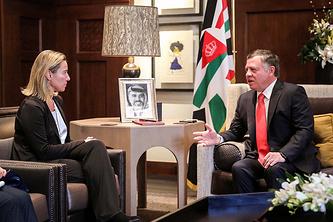 Американо-иордано-израильская встреча в Аммане