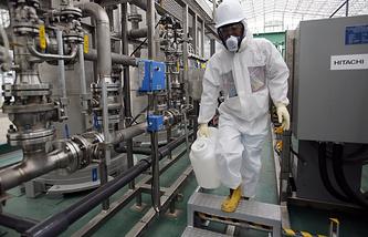 "Работы по ликвидации последствий аварии на АЭС ""Фукусима-1"""