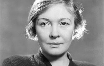 Поэтесса Ольга Берггольц
